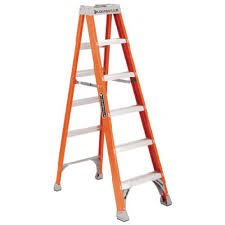 4' Fiberglass Advent Step Ladder FS1504