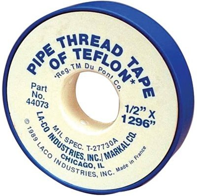 ".5"" X 260"" PTFE Pipe Thread Tapes"