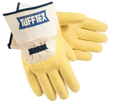 Large Premium Rubber Coated Tufftex Supported Gloves