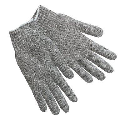 Large 7 Gauge Cotton String Knit Gloves