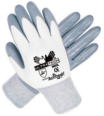 Large 13 Gauge Ultra Tech Nitrile Coated Gloves