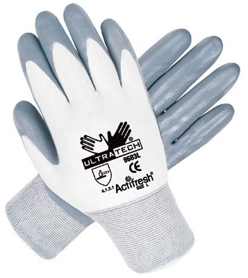 Large 13 Gauge Ultra Tech Nitrile Coated Gloves