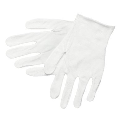 "14"" Men's Cotton Inspector Gloves"