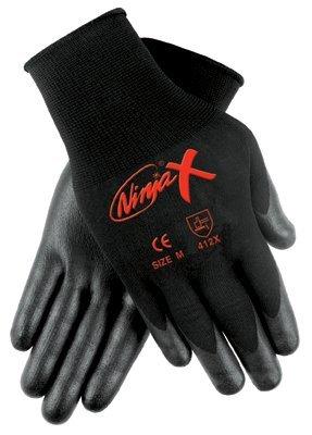 Large 15 gauge Ninja X Bi-Polymer Coated Palm Gloves