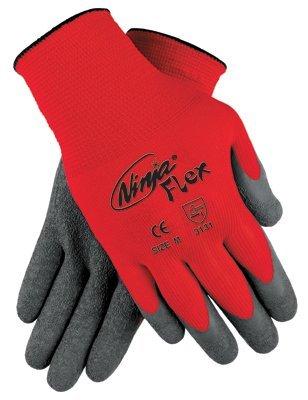 X-Large 15 Gauge Ninja Flex Latex Coated Palm Gloves