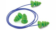 Bright Green Reusable Earplugs