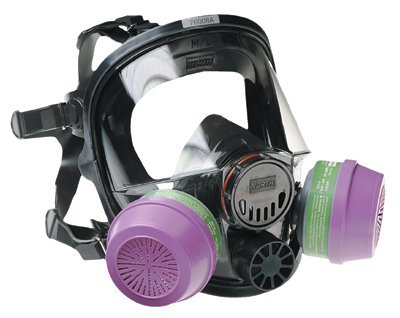 7600 Series Silicone Full Facepiece Respirators