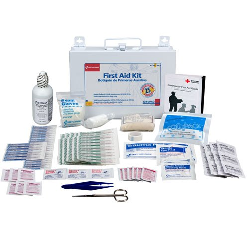 Honeywell 25-Person Bulk First Aid Kit w/ Metal Case