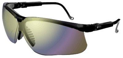 f40e24a20d8 Black Frame Mirror Lens Uvex Genesis Safety Eyewear ( S3203 ...
