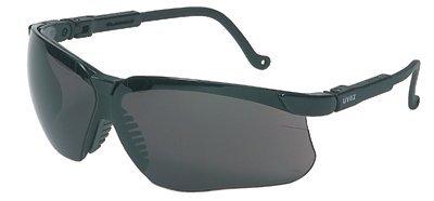 Black Frame Dark Gray Lens Uvextreme Genesis Eyewear