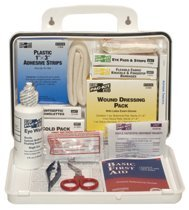 25 Person Plastic Industrial Weatherproof First Aid Kit
