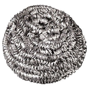 Premiere Stainless Steel Scrubbers 1.75 oz. Pads, L