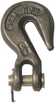 """3/8"""" Jaws & Clevis Pin Clevis Grab Hooks"""