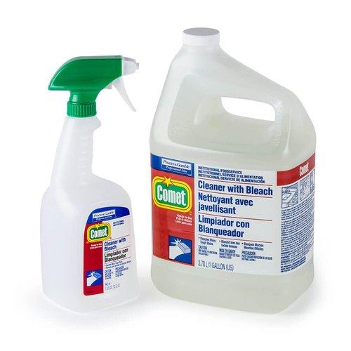 Procter & Gamble Comet Heavy-Duty Cleaner w/ Bleach 32 oz