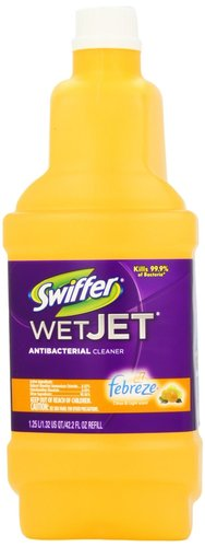 Swiffer WetJet Antibacterial Cleaning Solution Refill 1.25 Liter