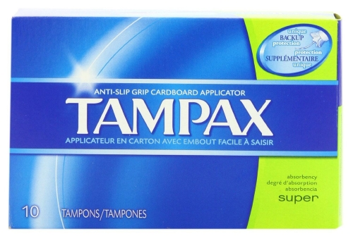 Procter & Gamble 30833 Tampax Super Absorbency