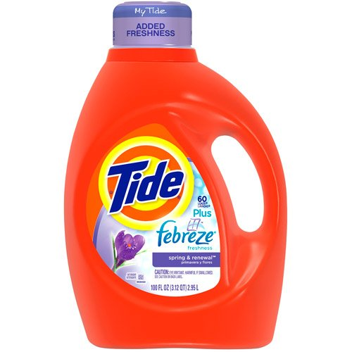 Tide Ultra 2x Ultra Concentrated 133 oz Liquid Laundry Detergent