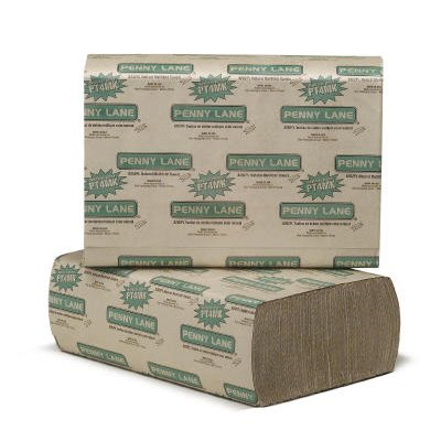Natural, 250 Count Multifold Paper Towels-9.25 x 9.5