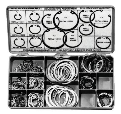 150 Piece Housing Ring Assortment Kit