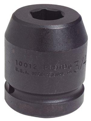 "1"" Drive 1-7/16"" 6 Point Black Oxide Impact Socket"