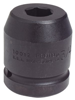 "1"" Drive 1-7/16"" 6 Point Black Oxide Impact Socket"