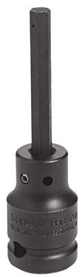 "1/2"" Drive 14mm Black Oxide Impact Hex Bit Socket"