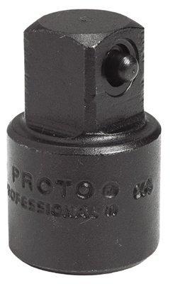 "1/2"" Female X 3/8"" Male Black Oxide Impact Adapter"