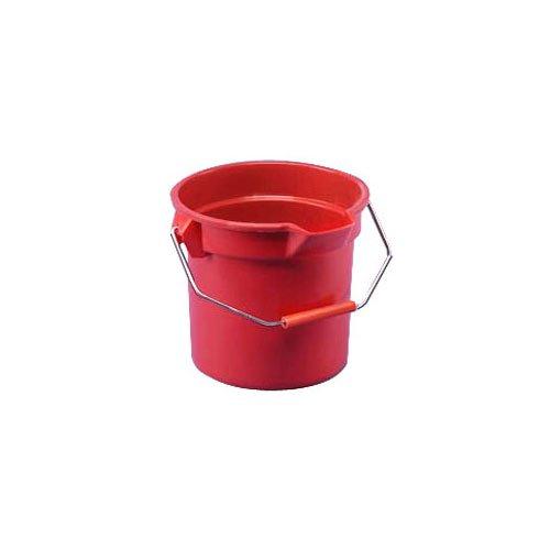 14 Quart Brute Round Plastic Utility Pail wit Pouring Spout