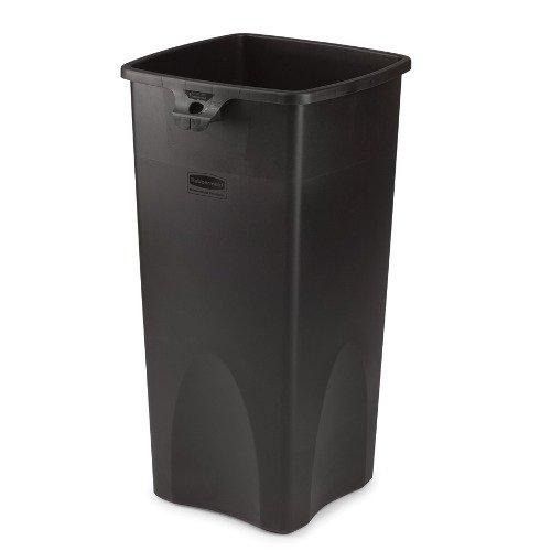 Untouchable Black 23 Gal Square Container