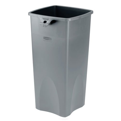 Untouchable Gray 23 Gal Square Container