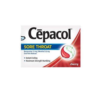 Cepacol Sore Throat Lozenges, Cherry