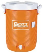 Orange 5 Gallon Water Coolers