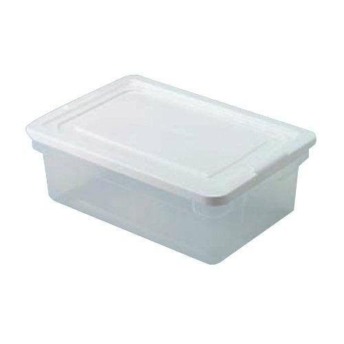 Roughtote Clear 3 Gal Storage Box