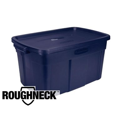 rubbermaid roughneck storage box 31 gallons rubbermaid 2244cpsteel. Black Bedroom Furniture Sets. Home Design Ideas