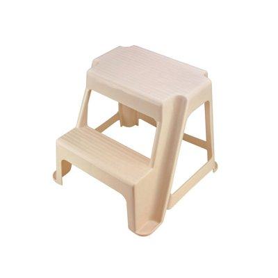 Fabulous Rubbermaid Bisque Two Step Stool 18 9 X 18 4 X 18 8 Inzonedesignstudio Interior Chair Design Inzonedesignstudiocom