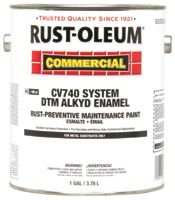 Alkyd Enamel Black Rust-Preventative Maintenance Paint
