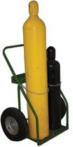 """21"""" Cylinder Cart with Pneumatic Wheels"""