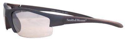 Equalizer Safety Glasses Red Frame Amber Lenses