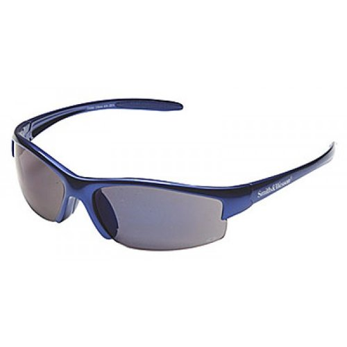Equalizer Safety Glasses with Blue Frame and Blue Mirror Lens