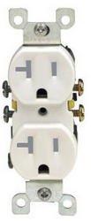 20 Amp Tamper Resistant (TR) Duplex Receptacle Outlet
