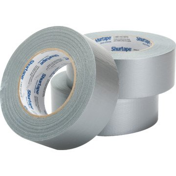 """2"""" x 60 yd, 9 mil, Silver General Purpose Duct Tape"""