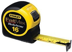 "16'X1-1/4"" FatMax Reinforced with Blade Armor Tape Rule"