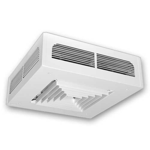 Dragon Series 4000W White Surface Mounted Ceiling Fan Electric Heater, 240V