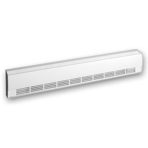 277 V DBI Aluminum Draft Barrier Baseboard Heater, 500W, 250W per linear foot