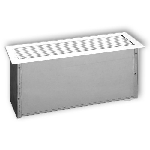 1400W White Floor Insert Convection Heater, 208 V