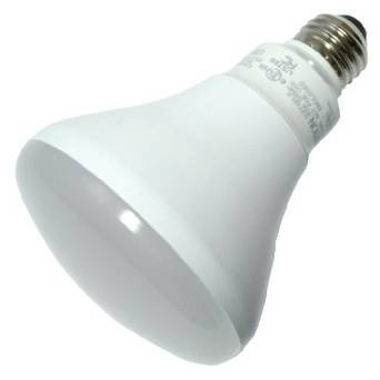 Br30 10W Non-Dimmable LED Bulb, Smooth, 2700K