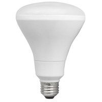 Br30 10W Non-Dimmable LED Bulb, Smooth, 3000K