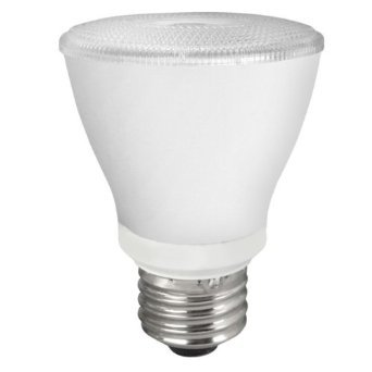 10W Non-Dimmable Smooth PAR20 LED Bulb, 2400K,  40 Degree