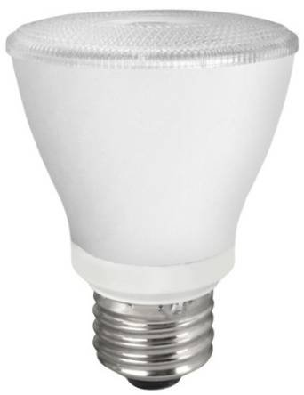 PAR20 10W Dimmable LED Bulb, Smooth, 2400K, 25 Degree