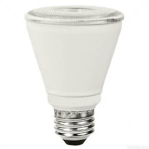 PAR20 10W Dimmable LED Bulb, Smooth, 4100K, 40 Degree